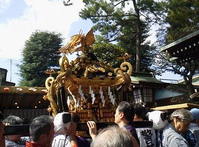 s 2018 09 24 18h44 07 - 砧三峯神社のお祭りの日程は?御朱印ってもらえるんでしょうか?